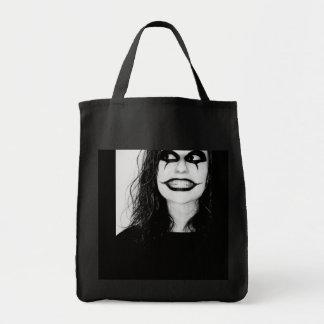 Bag woman clown