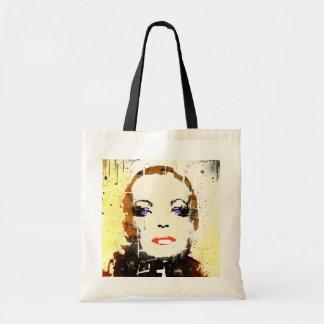 """BAG """"woman portrait"""" pop art"""