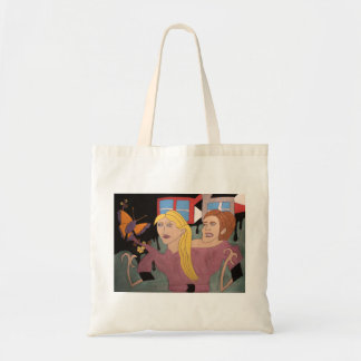 """Bag """"Women and butterfly """""""