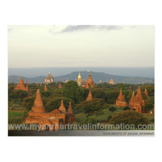 Bagan Monuments Postcard
