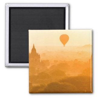 Bagan Myanmar Balloon Travel Magnet