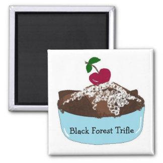Bagatela del bosque negro imán para frigorífico