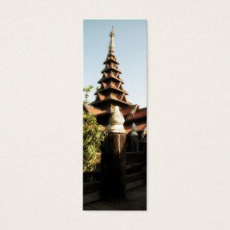 Bagaya Kyaung Bookmark Mini Business Card