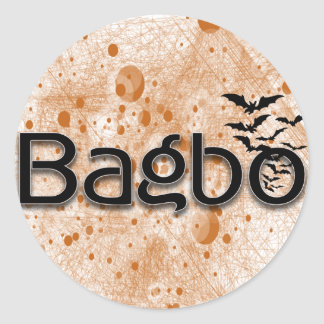 bagbo new brand in the Market Classic Round Sticker