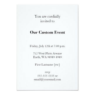 Bagby: Botherations and Observations 5x7 Paper Invitation Card