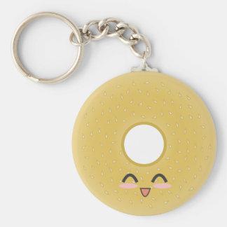 Bagel - Bagel Basic Round Button Keychain