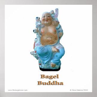 Bagel Buddha Poster