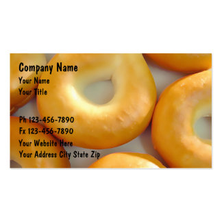 Bagel Business Cards