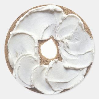 Bagel Classic Round Sticker