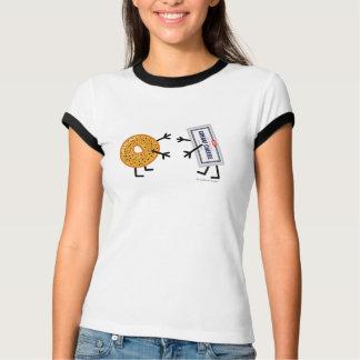 Bagel & Cream Cheese - Customizable T-Shirt