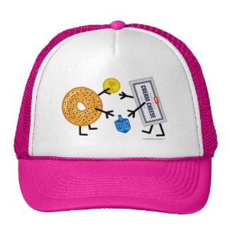 Bagel & Cream Cheese - Dreidel Gelt Hanukkah Trucker Hat