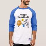 Bagel & Cream Cheese - Happy Hanukkah! T-Shirt