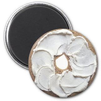Bagel 2 Inch Round Magnet