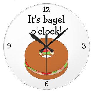Bagel O'Clock fun food graphic