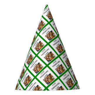 bagel party hat