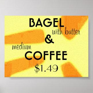 bagel poster
