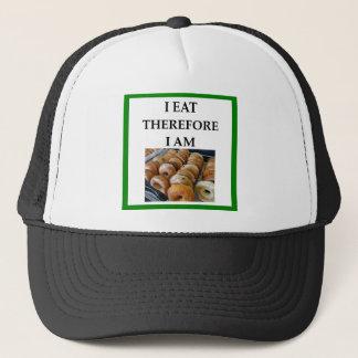 bagel trucker hat