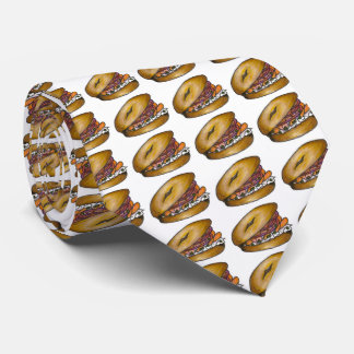 Bagel w/ Cream Cheese Lox Capers Bagels Food Tie
