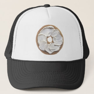 Bagel with Cream Cheese Trucker Hat