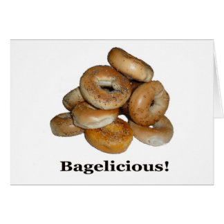 Bagelicious! Card