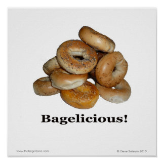 ¡Bagelicious! Póster