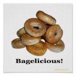 Bagelicious! Print