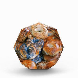 Bagels!! Acrylic Award