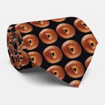 Bagels Neck Tie