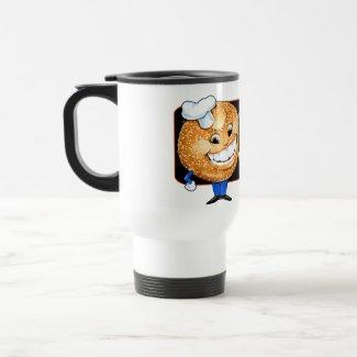 Bagels on Bartow mug