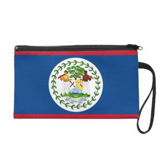 Bagettes Bag with Flag of Belize Wristlet Purse