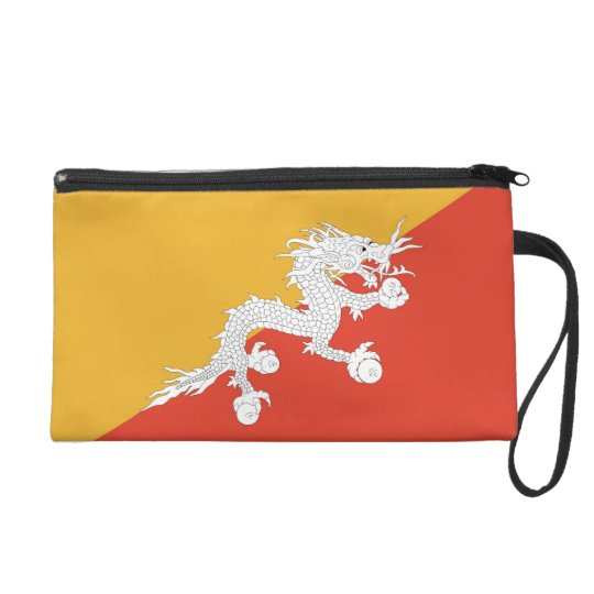 Bagettes Bag with Flag of Bhutan