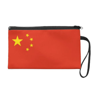 Bagettes Bag with Flag of China