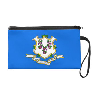 Bagettes Bag with Flag of Connecticut, U.S.A.
