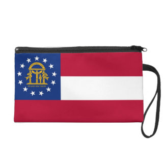 Bagettes Bag with Flag of Georgia, U.S.A.