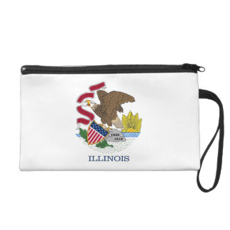 Bagettes Bag with Flag of Illinois, U.S.A.
