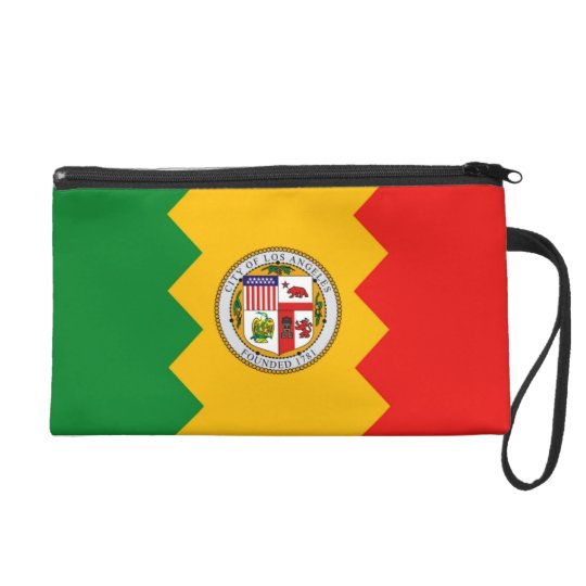 Bagettes Bag with Flag of Los Angeles, U.S.A.
