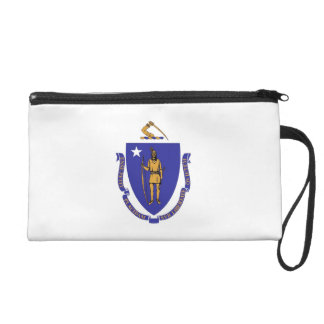 Bagettes Bag with Flag of Massachusetts, U.S.A.