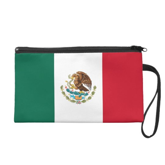 Bagettes Bag with Flag of Mexico