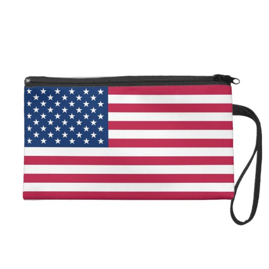 Bagettes Bag with Flag of U.S.A.
