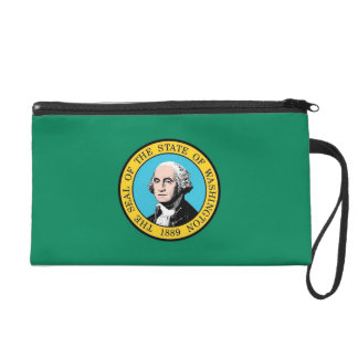 Bagettes Bag with Flag of Washington State, U.S.A.