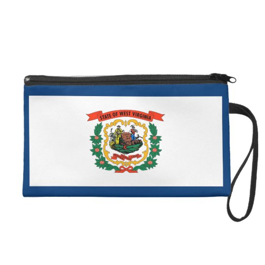 Bagettes Bag with Flag of West Virginia., U.S.A.