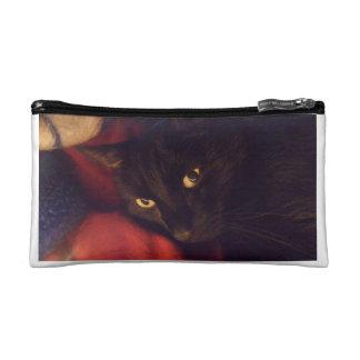 Bagettes Bag with Ninja Black Cat Makeup Bag