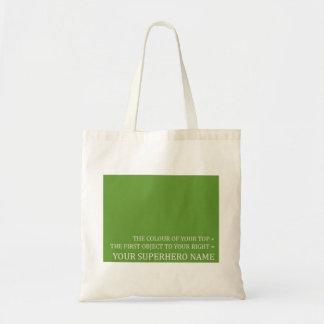 bagg verde bolsa tela barata