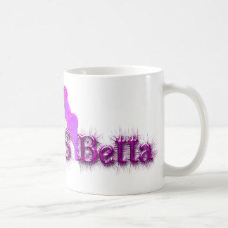 Bagga-es-betta Taza Básica Blanca