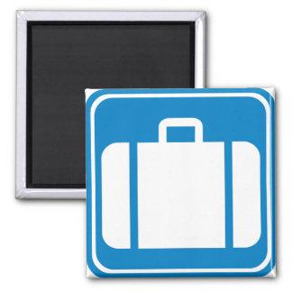 Baggage Check / Claim Highway Sign Fridge Magnets