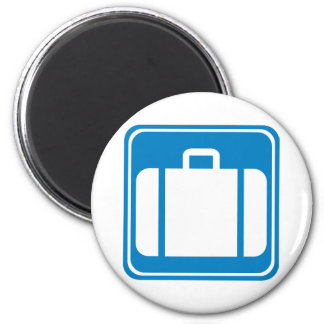 Baggage Check / Claim Highway Sign Magnet