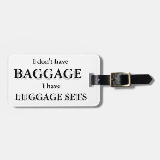 Baggage Luggage Tag Customizable