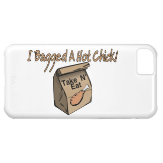 Bagged A Hot Chick Chicken iPhone 5C Covers