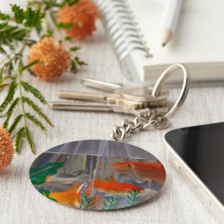 Bagged Goldfish Keychain