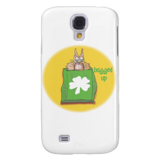 Bagged Up on St Patrick's Day Galaxy S4 Case